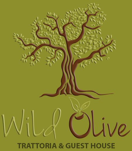 "Wild Olive Trattoria "" Guest House Logo"